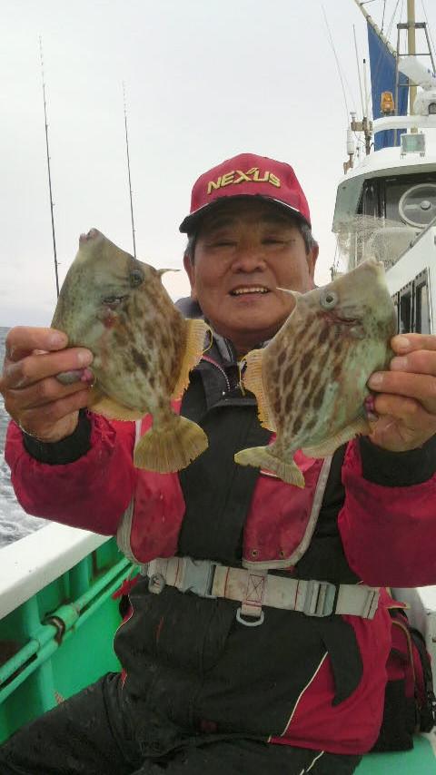 下田沖のカワハギ