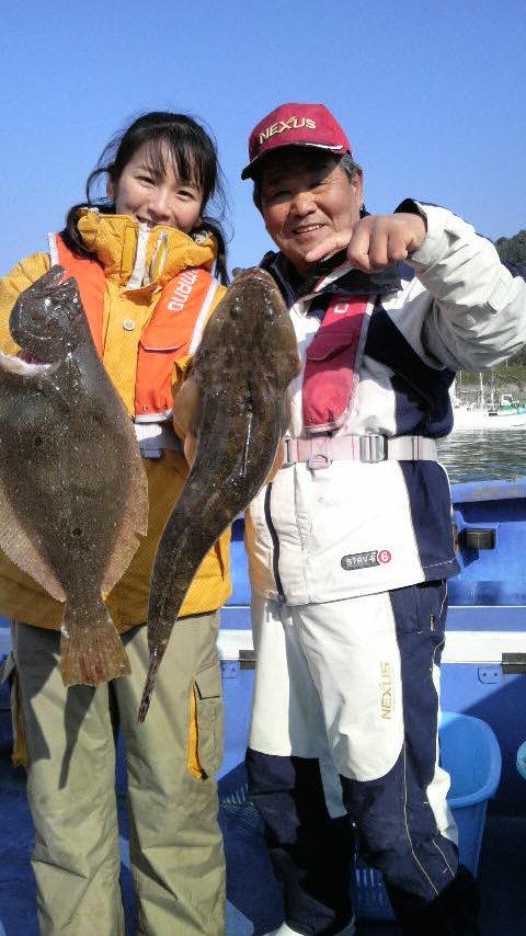 飯岡沖のヒラメ釣り