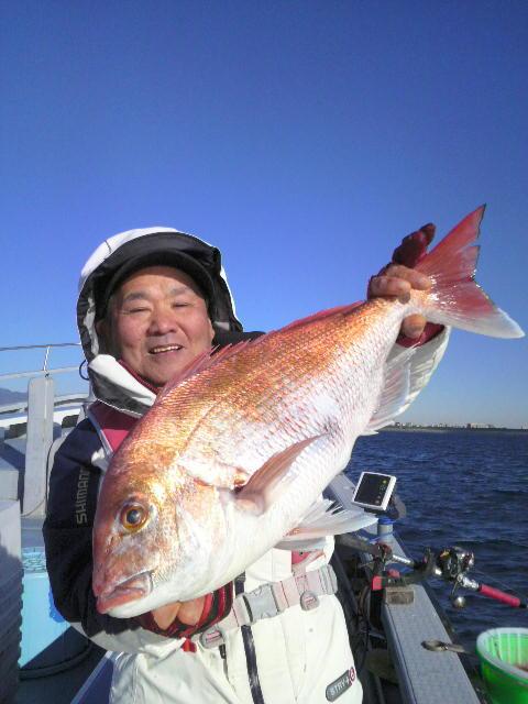 平塚のマダイ釣り