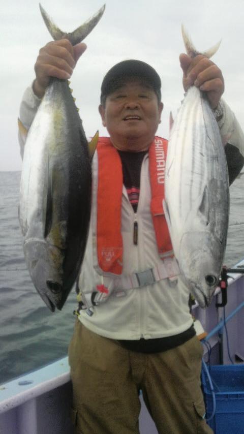 台風の前の大釣りが…