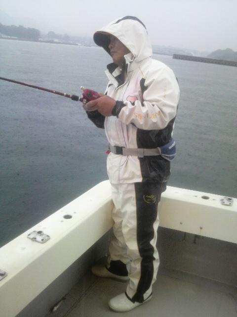 釣れるといいたぁ〜
