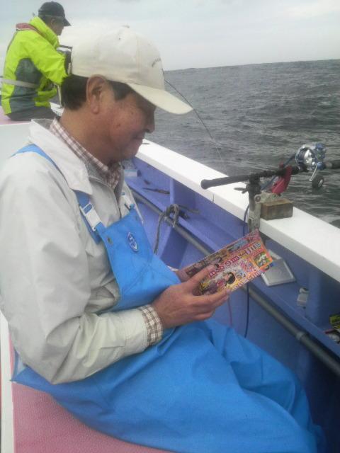 剣崎沖は…荒波ですよ〜