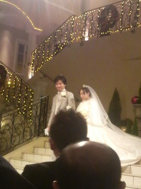 今日は結婚式だったんです〜