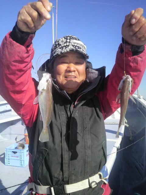 イシモチ釣りに行ってきちゃったぁ〜