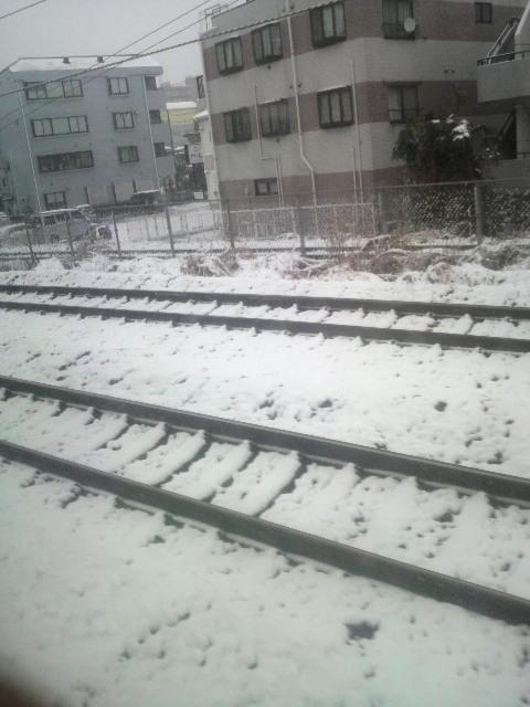 あれぇ〜いつ雪国に来たんだろう〜