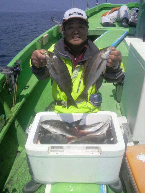 イサキ釣り…のロケ〜