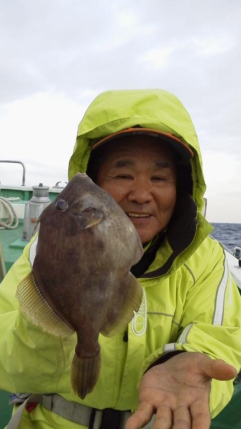 カワハギ釣り…写真を撮る…どっち…