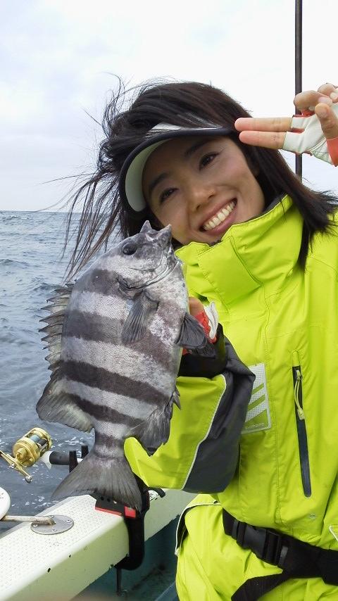 片貝のハナダイ釣り大会でしたよ〜