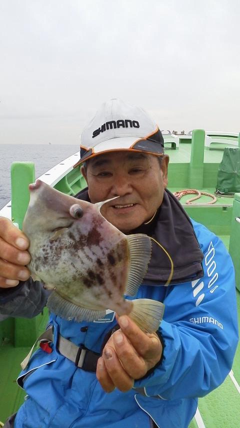 カワハギ釣りですよ〜