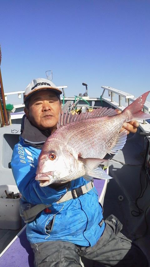真鯛釣りですが〜やられました〜