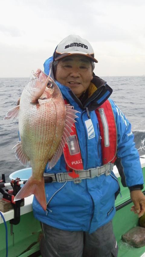 真鯛釣り…ですよ〜