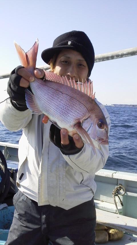 真鯛釣り…