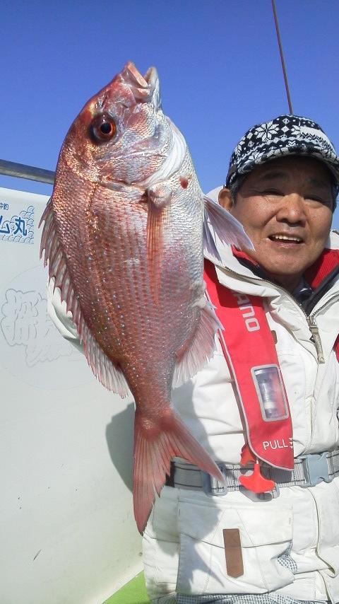 真鯛釣りですよ〜