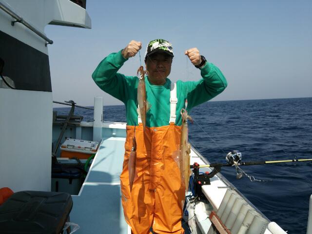 今日は…真鯛釣りなんですが〜
