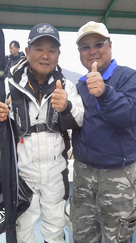 錦江湾の乗っ込みマダイともお別れ…