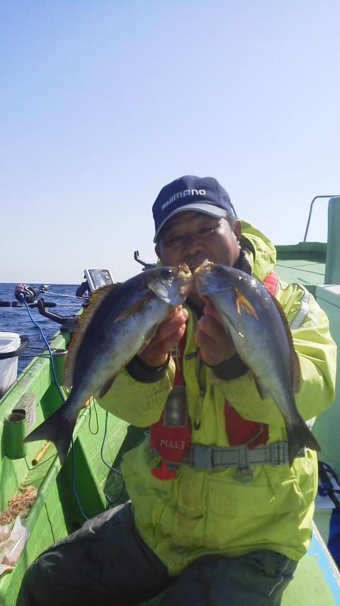 イサキ釣りですよ〜