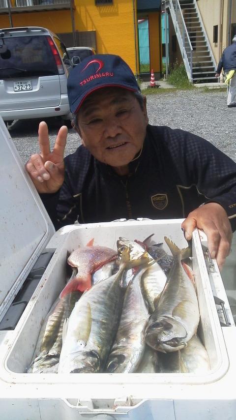 ハナダイ&amp;<br />  アジ釣りに…
