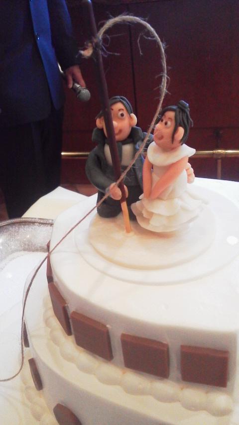 真鯛釣り鯛師さんの結婚パーティーに…