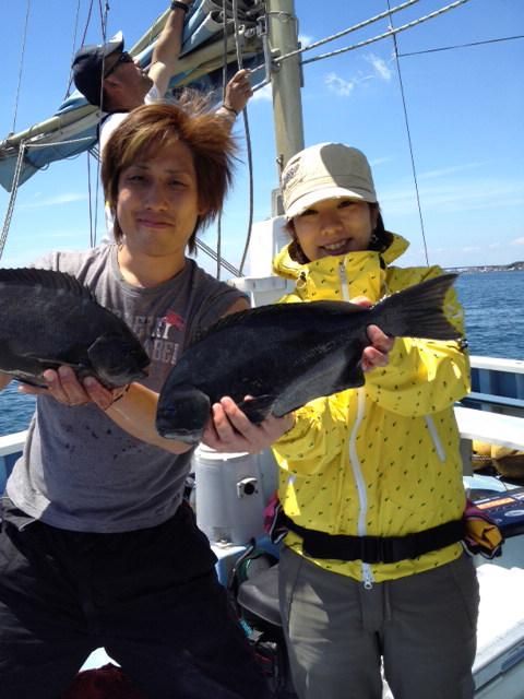 今日は真鯛釣りに…