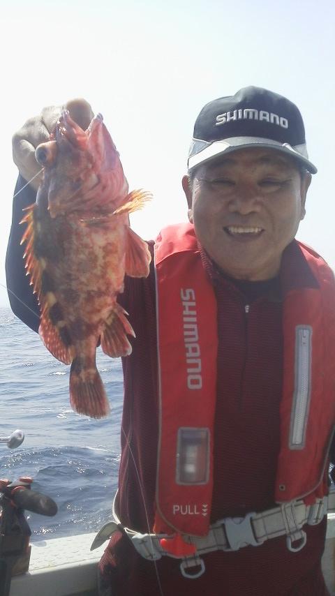 ヒラメ&カサゴ釣りですよ〜