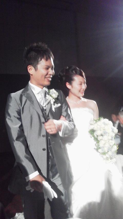 今日は〜結婚式に…