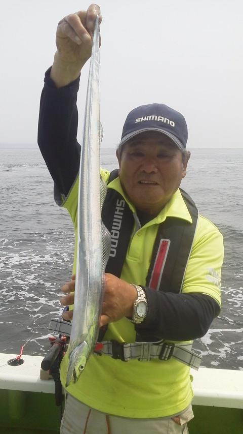 今日は…タチウオ…釣れるかなぁ〜