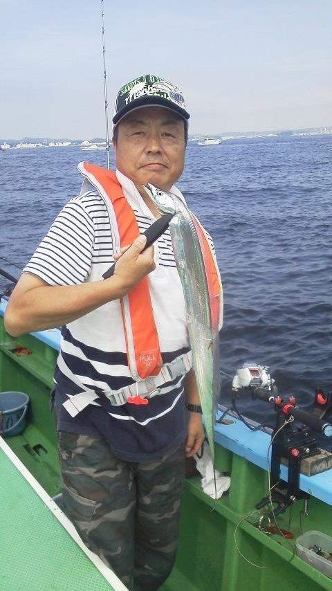 タチウオ釣り…ですが〜