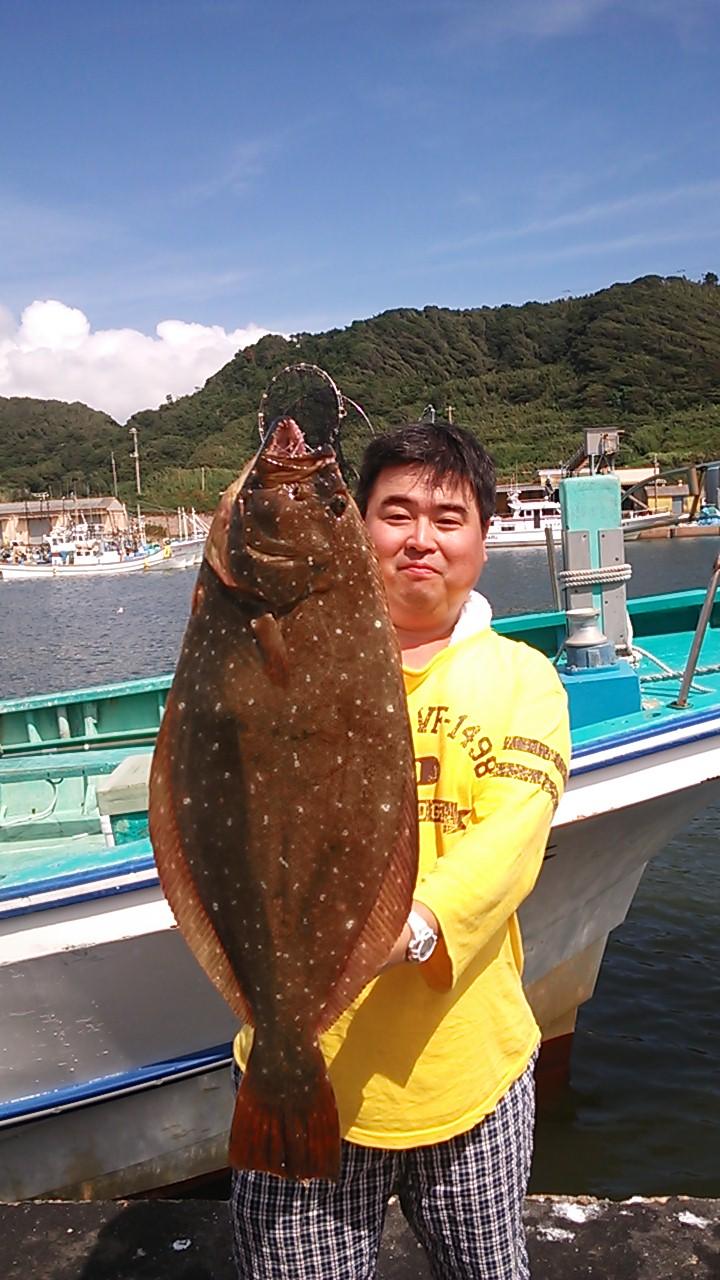ヒラメ〜ヒラメ釣りですー
