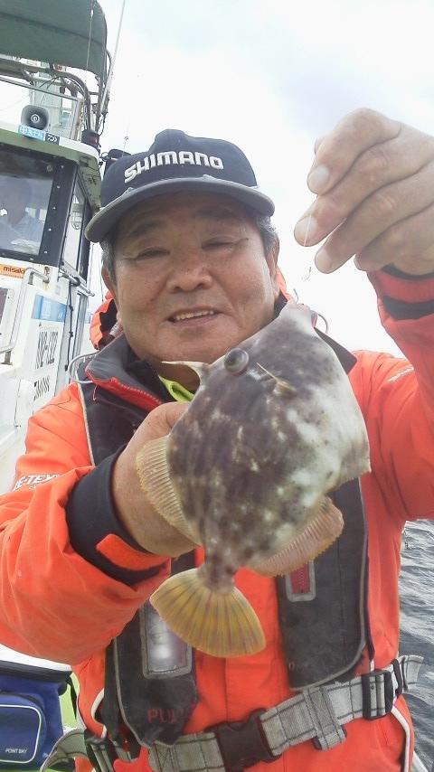 小網代・丸十丸のカワハギ釣りですー