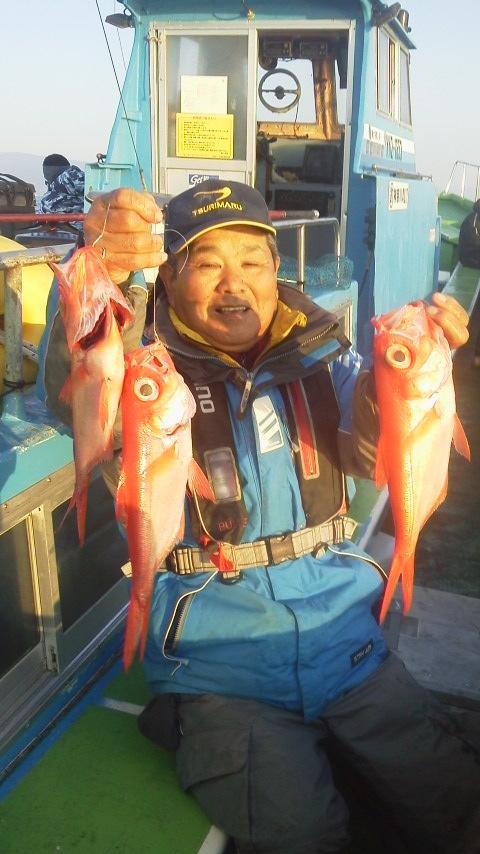 福浦港・よしひさ丸のキンメ釣り………