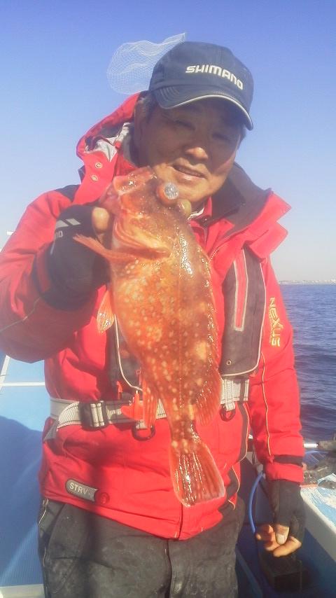 アマダイ釣りです〜