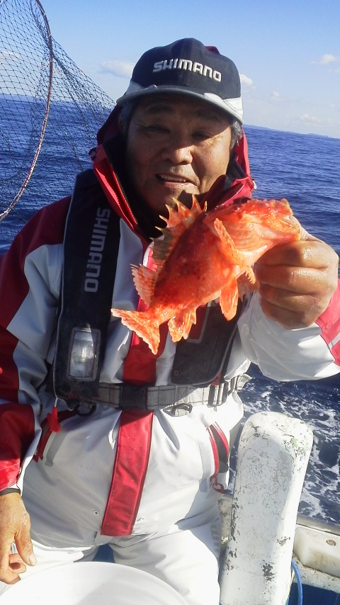 三崎・角田丸のオニカサゴ釣りに…