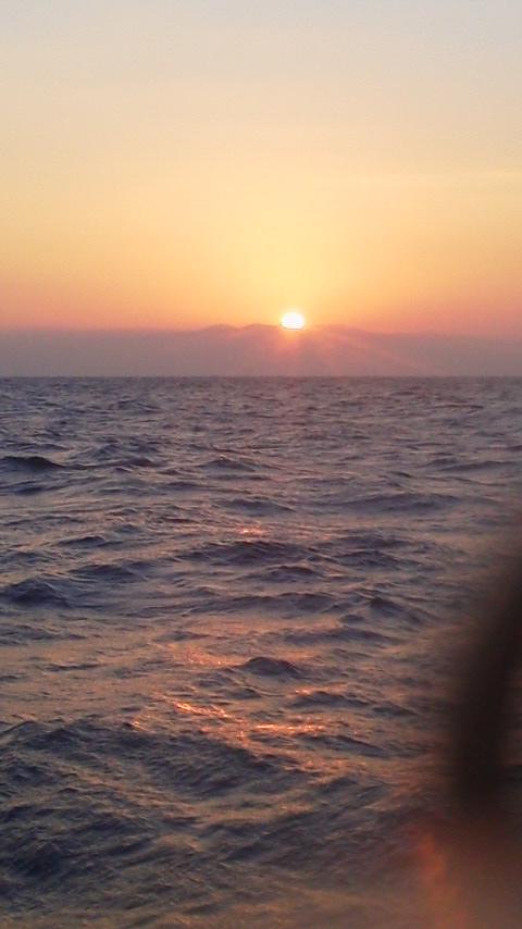 清水港・大和丸に初釣りでマダイ釣りにきています。