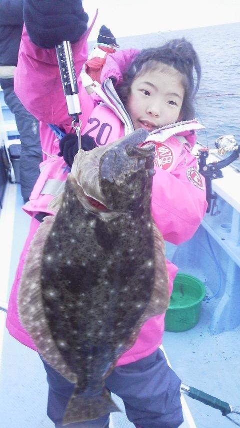 鹿島灘復興ヒラメ釣り大会に………