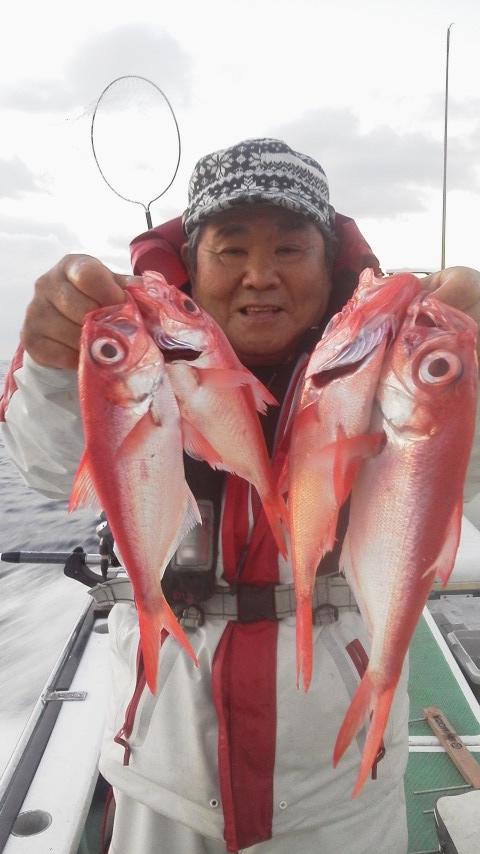 福浦・海斗丸に〜キンメ釣りに…