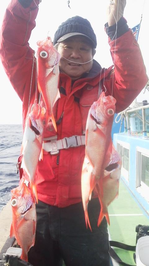 福浦・よひしさ丸のキンメ釣り…