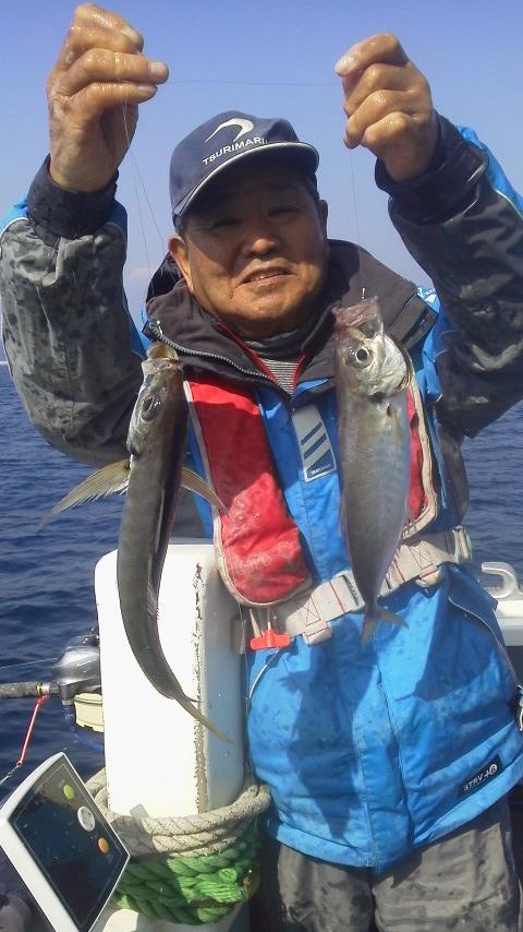 茅ヶ崎・海成丸のアジ釣りです…