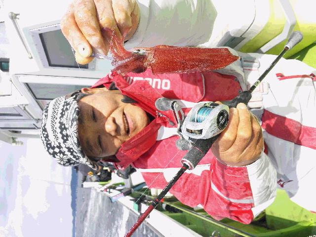 3連チャンのマルイカ釣り…