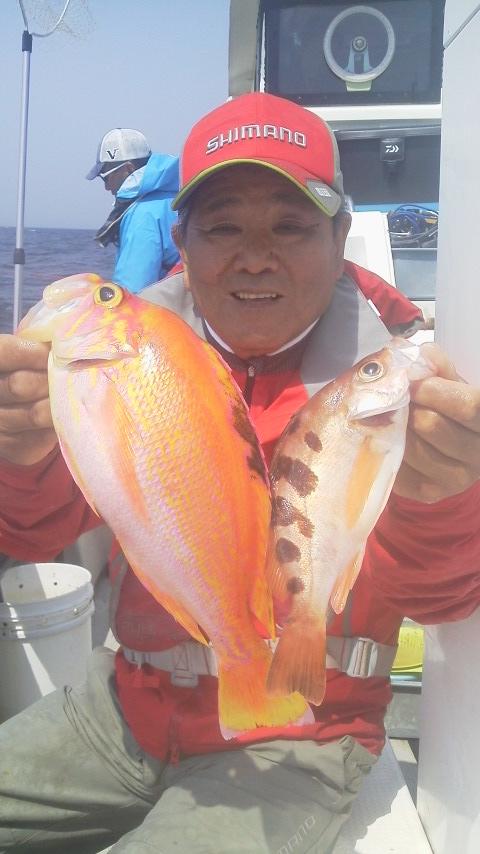 小坪・椿丸のカイワリ・アマダイ五目釣りに…