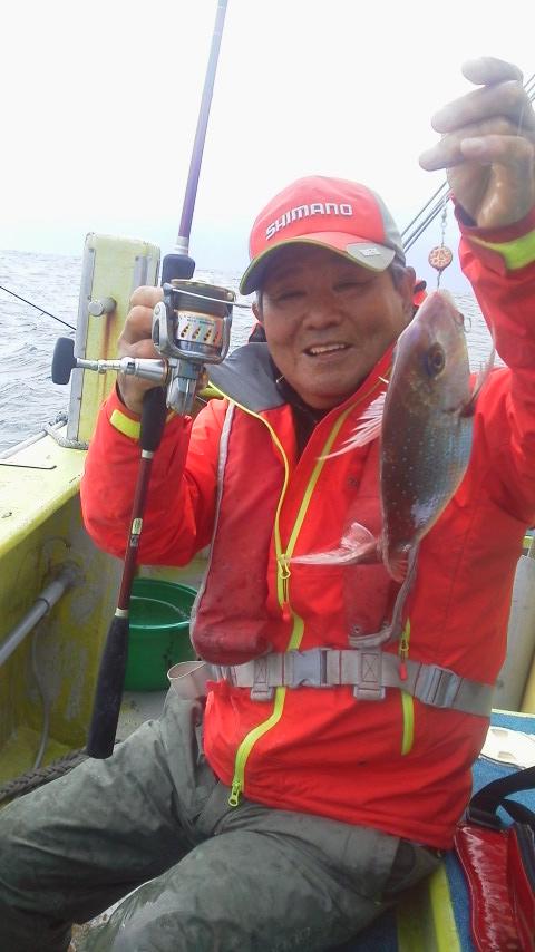 飯岡・太幸丸の一つテンヤマダイ釣りに…