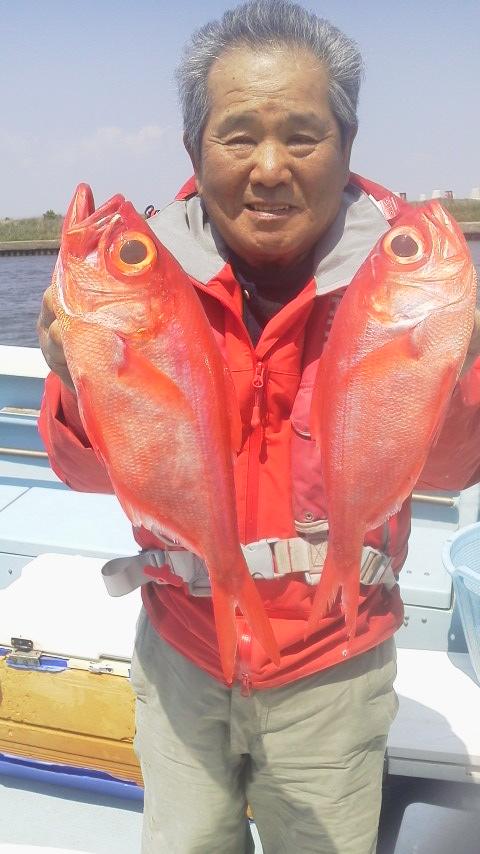 片貝・正一丸のアコウ釣りに…