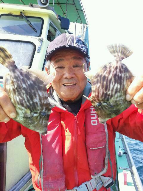 今日は…小網代・丸十丸のカワハギ釣りですが…