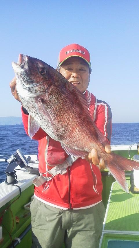 網代・ゆたか丸のイサキ遠征五目釣りに…