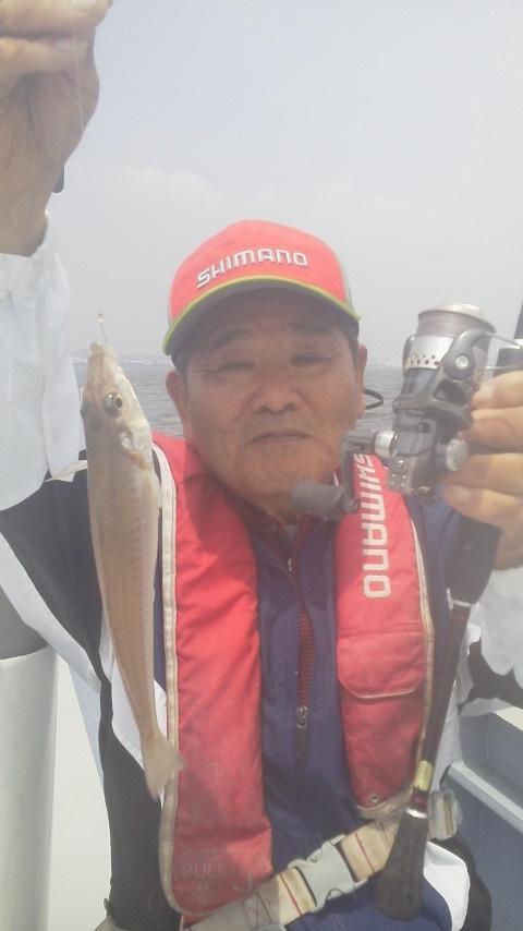 金沢漁港・鴨下丸のシロギス釣りに〜