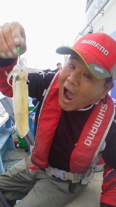 真鶴・国敏丸のムギイカ釣り…