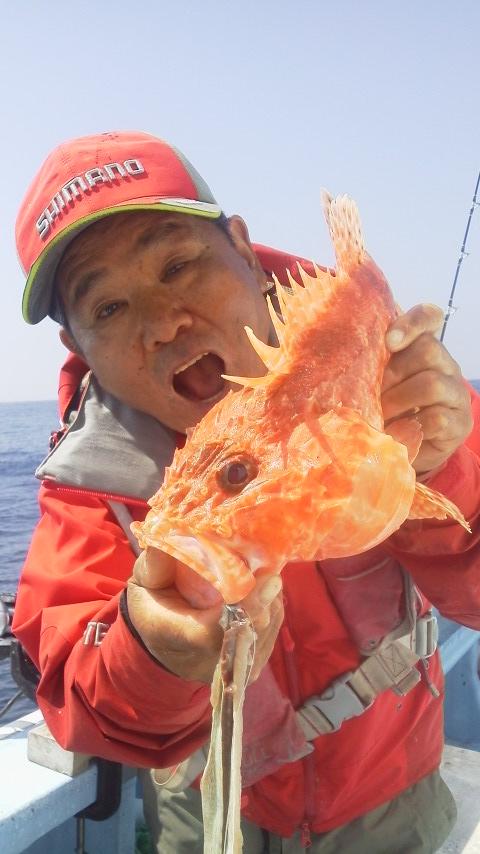 大原・力漁丸のオニカサゴ…