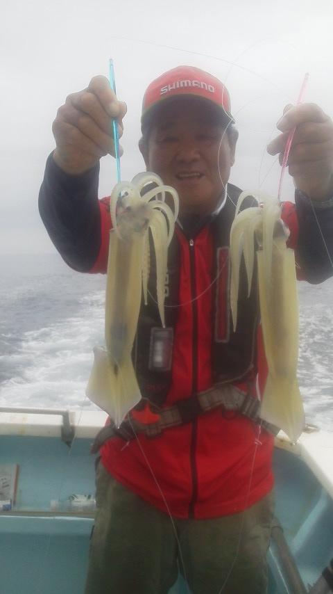 南房千倉・千鯛丸のスルメイカ釣り………