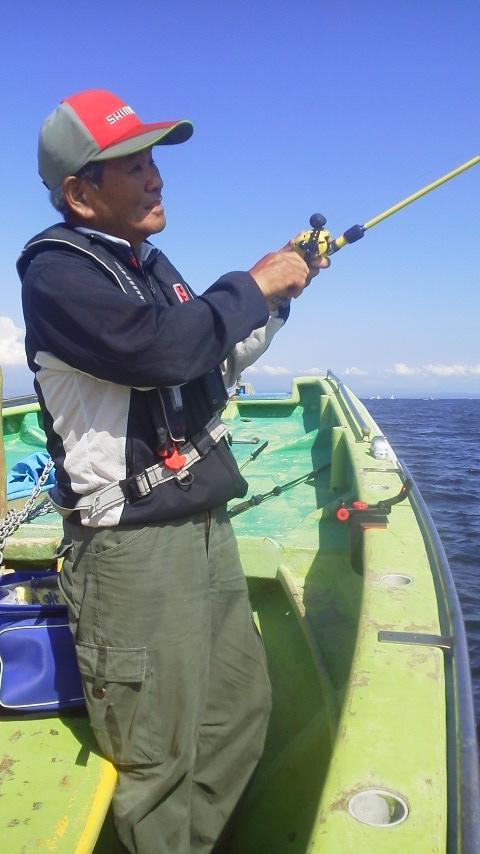 八幡橋・鴨下丸のマゴチ釣り…