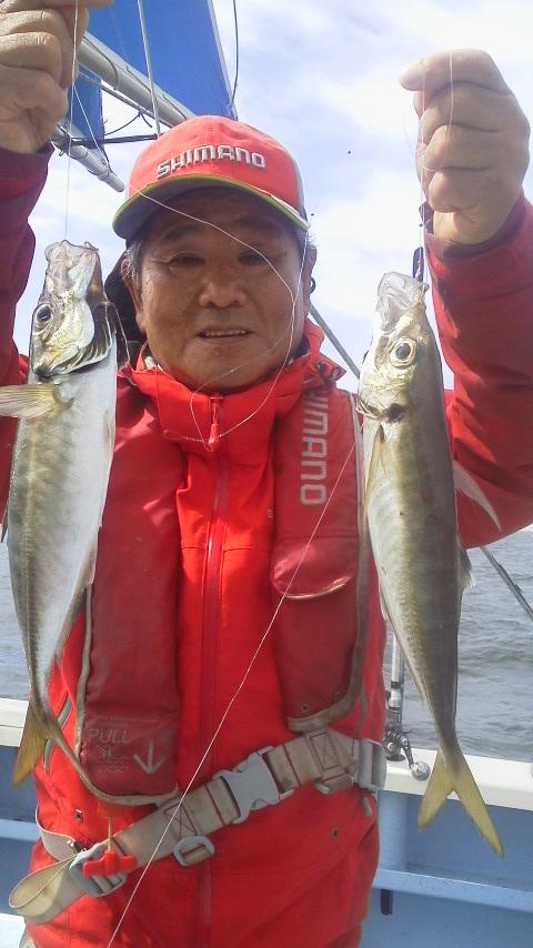 剣崎・佑幸丸に…五目釣りにきています。