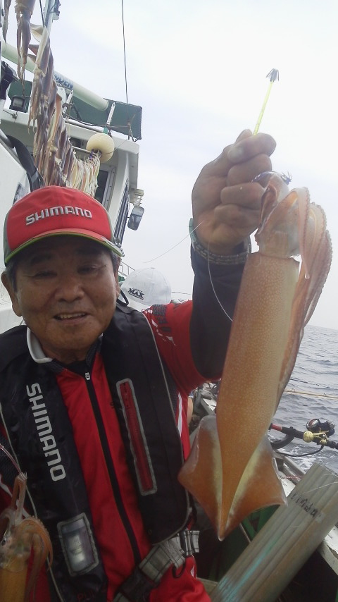 小網代・丸十丸のスルメイカ釣り…
